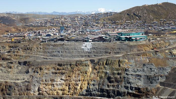 Peru - Mine Cerro de Pasco