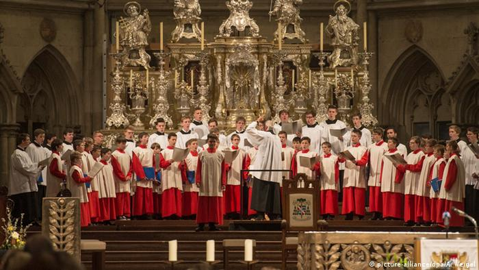 Regensburger Domspatzen Chor (picture-alliance/dpa/A. Weigel)