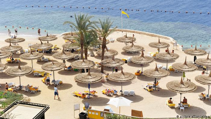 Symbolbild - Ägypten Rotes Meer (picture-alliance/dpa)