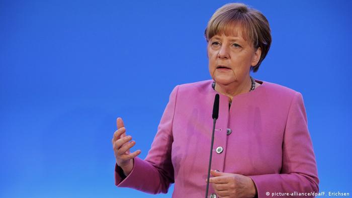 Бундесканцлерка Анґела Меркель
