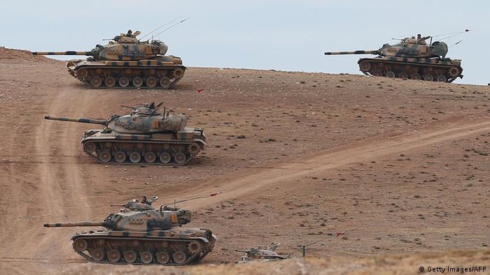 türkische Truppen im Irak (Getty Images/AFP)