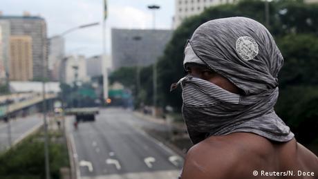 Brasilien Ausschreitungen Protest gegen Preise für öffentliche Verkehrsmittel