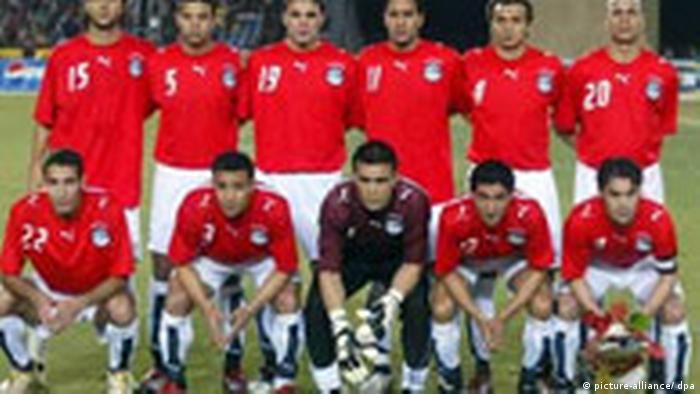 Fußball Afrika-Cup - Die Nationalmannschaft von Ägypten