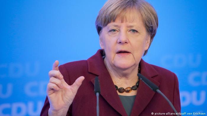CDU-Vorsitzende Angela Merkel Klausurtagung CDU Mainz