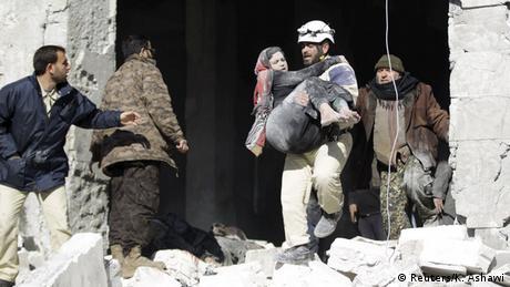 Syrien Russische Luftangriffe