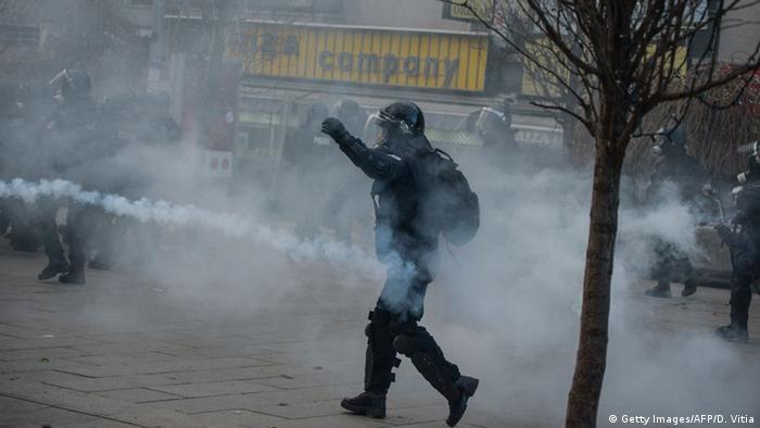 Pristina - Proteste gegen die Regierung (Foto: DRITON VITIA/AFP/Getty Images)