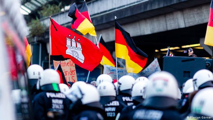 Deutschland Köln Pegida-Demonstration (Florian Görner)