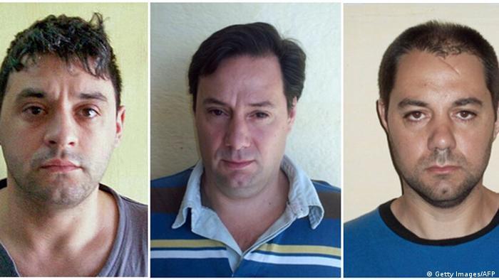 Argentinien Geflüchtete Häftlinge festgenommen