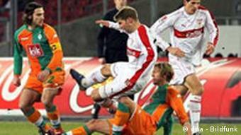 20. Spieltag VfB Stuttgart gegen Werder Bremen