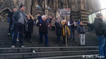 Köln Demonstration für Frauenrechte