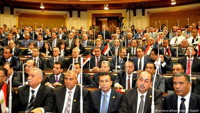 Ägypten Parlament erstes Treffen (picture-alliance/dpa/A.Sayed)