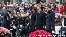 Paris Trauerfeier Jahresgedächtnis Terroranschläge Hollande