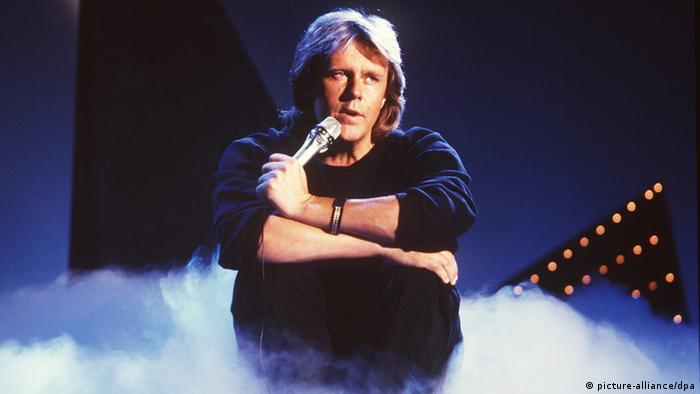 Howard Carpendale bei einem Auftritt in den 1980er Jahren (Foto: picture-alliance/dpa)