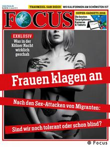 A cover of Focus magazine
