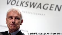 Matthias Müller, director ejecutivo de Volkswagen.
