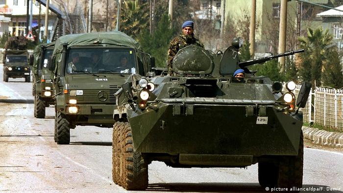 Turkish rights groups decried the army's operations