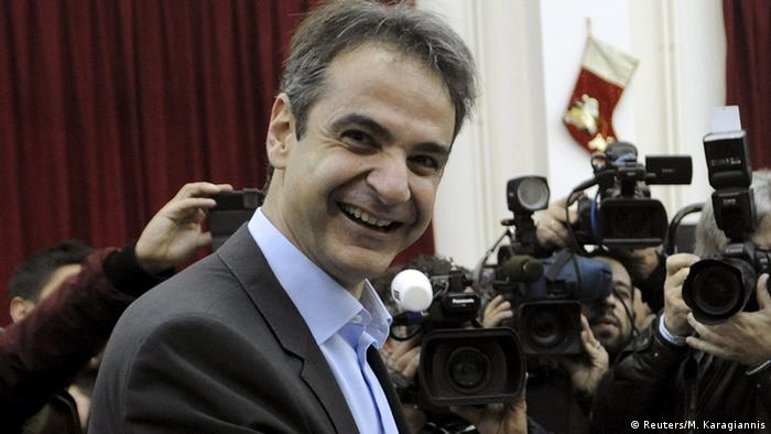Mitsotakis is a staunch critic of Tsipris and populism