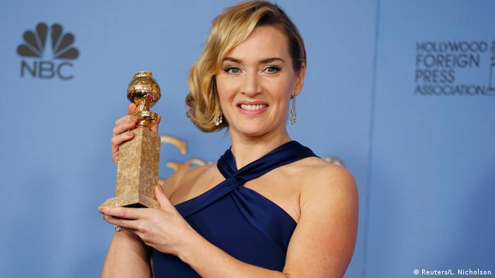 USA 73. Golden Globes Schauspielerin Kate Winslet in Beverly Hills