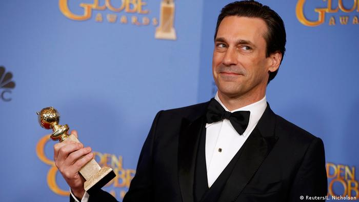 USA 73. Golden Globes Schauspieler Jon Hamm in Beverly Hills