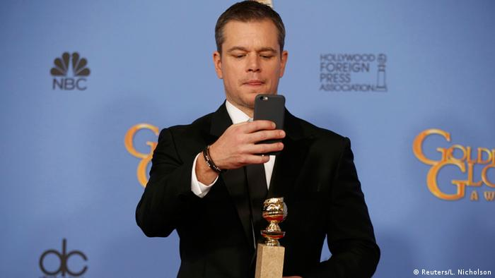 USA 73. Golden Globes Schauspieler Matt Damon in Beverly Hills (Reuters/L. Nicholson)
