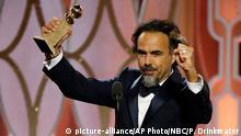USA 73. Golden Globes Alejandro G. Inarritu