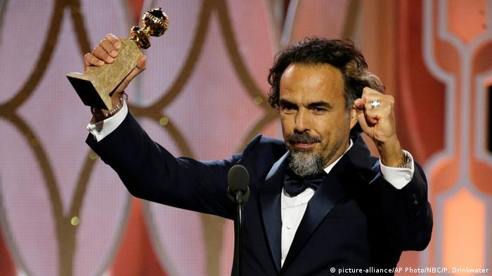 USA 73. Golden Globes Alejandro G. Inarritu (picture-alliance/AP Photo/NBC/P. Drinkwater)