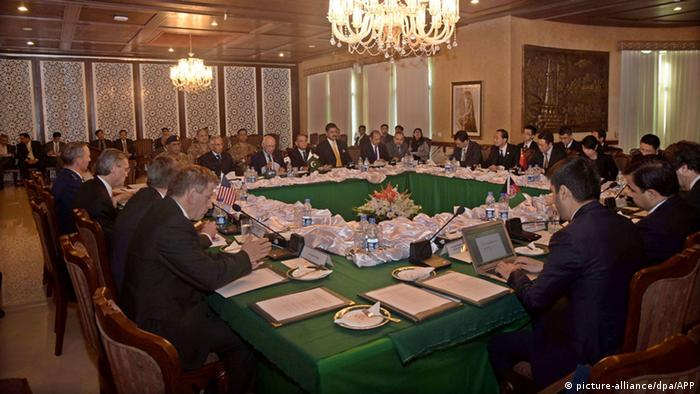 Officials from China, the US, Afghanistan and Pakistan meet in Islamabad