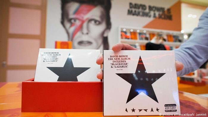 David Bowie Album Blackstar (picture alliance/dpa/V. Jannink)