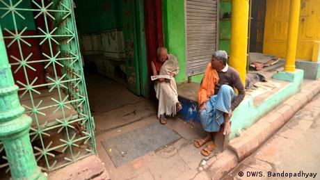 Indien Winter Kalkutta Männer