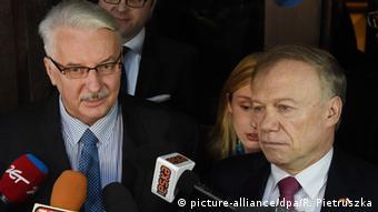 Polen PK Witold Waszczykowski und Rolf Nikel in Warschau