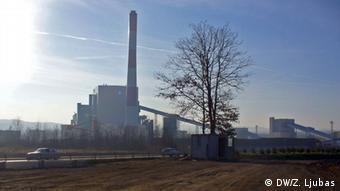 Bosnien Stanari Kohlekraftwerk