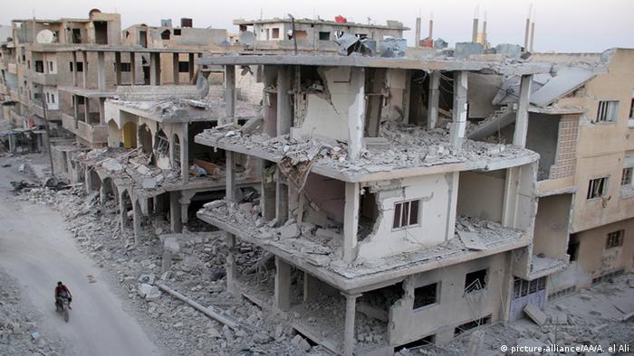 Syrien Zerstörung in Daraa