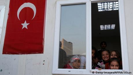 Türkei Flüchtlinge in der Sanliurfa Provinz (Getty Images/AFP/A. Altan)