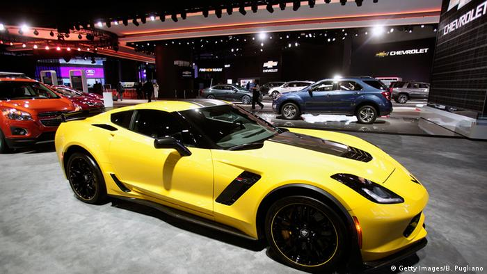 USA Detroit Autosalon 2016