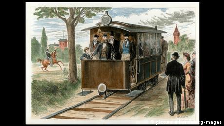 First electric tram, Lichterfelde near Berlin (Picture Alliance/AKG Images)