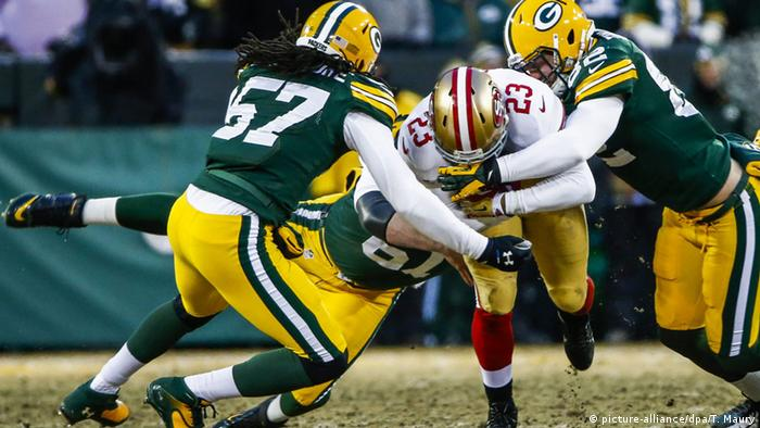 USA, Football San Francisco 49ers - Green Bay Packers