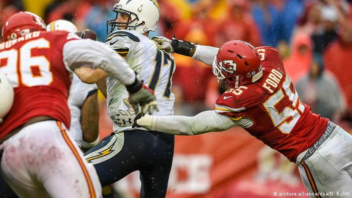 USA, Football Kansas City Chiefs - San Diego Chargers