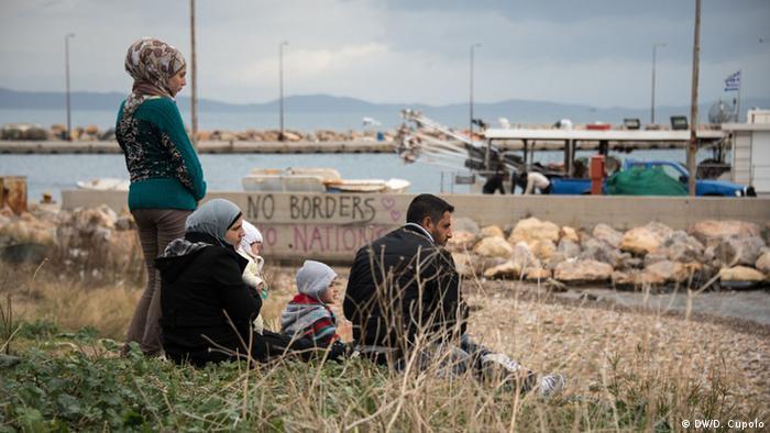 Бежанци на гръцкия отров Хиос