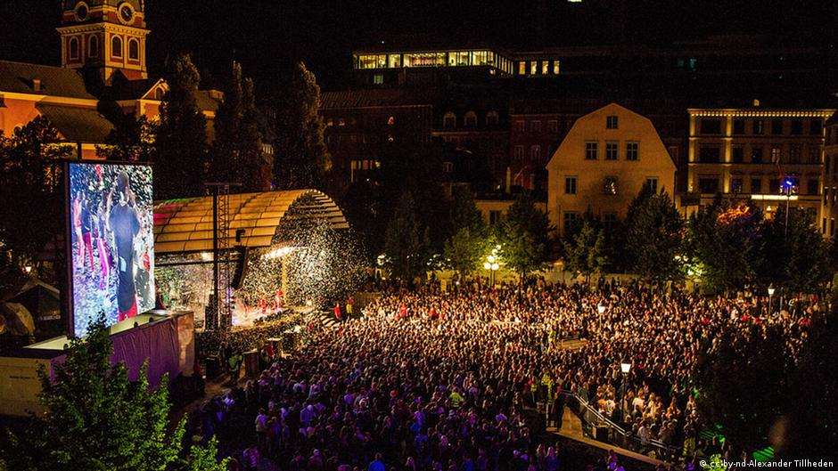 Swedish police accused of covering up festival sex assault
