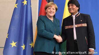 Tras la visita de Evo Morales a Alemania, la realización del tren transcontinental cobró nueva fuerza.