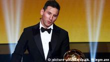 Schweiz, Ballon d'Or Gala 2015 Lionel Messi