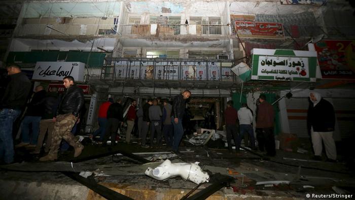 Irak, Bombenanschlag in Bagdad