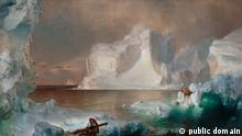 The Icebergs von Frederic Edwin Church