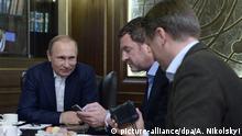 Wladimir Putin Interview mit der Bild in Sotschi