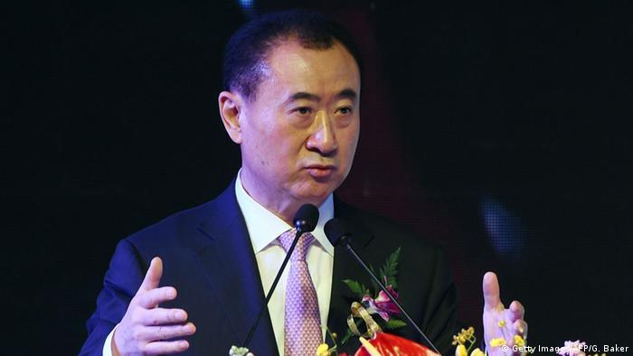 China Wang Jianlin (Getty Images/AFP/G. Baker)