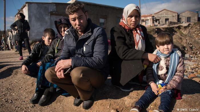 Griechenland Flüchtlingslager in Chios