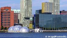 Drijvend Paviljoen - Netherlands Rotterdam Feijenoord View to Floating Pavilion +++ (C) Imago/Westend61