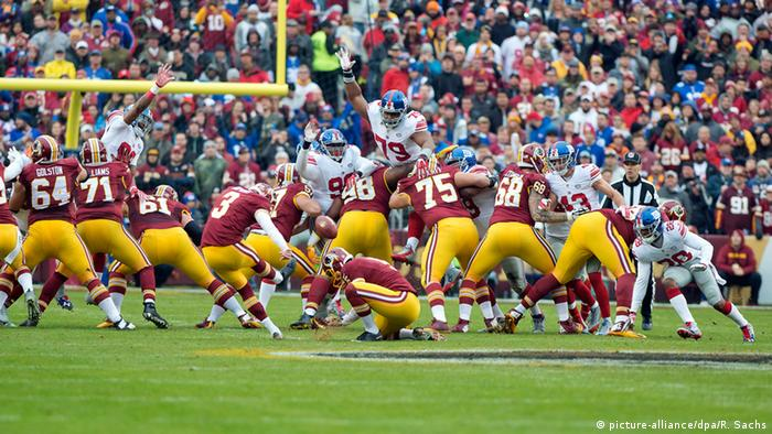 USA American Football - New York Giants vs. Washington Redskins