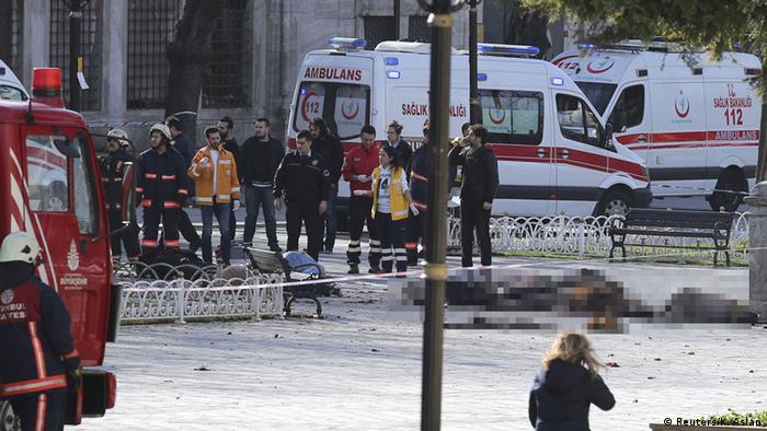 Türkei Explosion in Istanbul (Reuters/K. Aslan)
