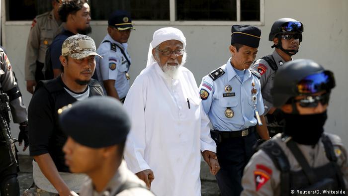 Indonesien Prozess Abu Bakar Bashir islamischer Kleriker (Reuters/D. Whiteside)